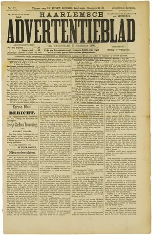 Haarlemsch Advertentieblad 1895-09-11