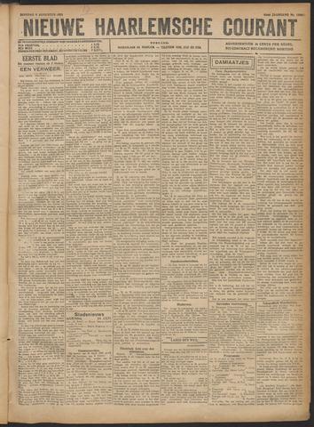 Nieuwe Haarlemsche Courant 1921-08-09