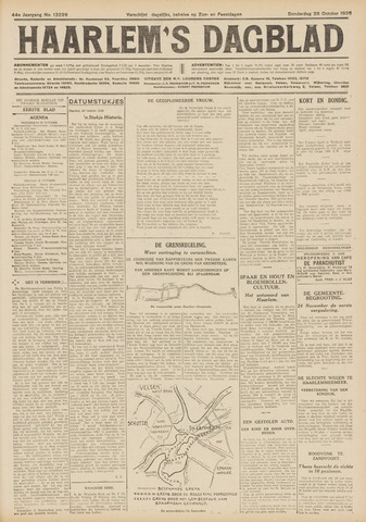 Haarlem's Dagblad 1926-10-28