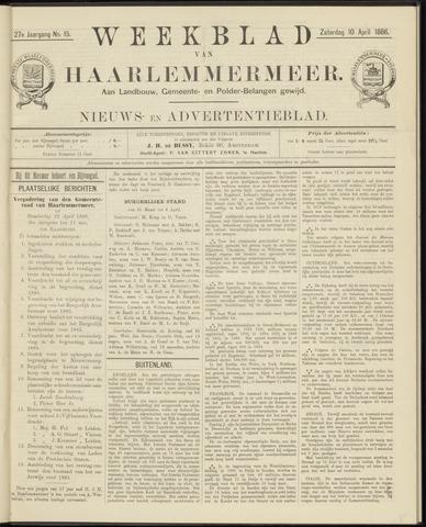 Weekblad van Haarlemmermeer 1886-04-10