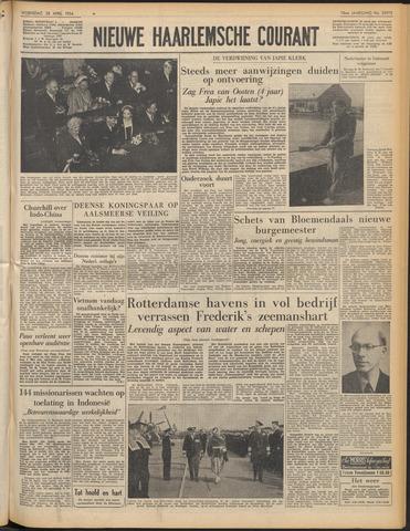 Nieuwe Haarlemsche Courant 1954-04-28