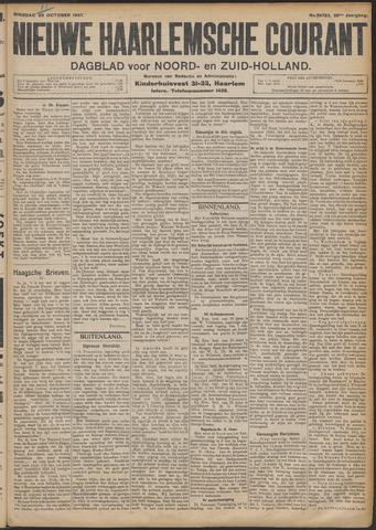 Nieuwe Haarlemsche Courant 1907-10-29