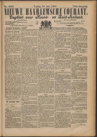 Nieuwe Haarlemsche Courant 1905-06-16