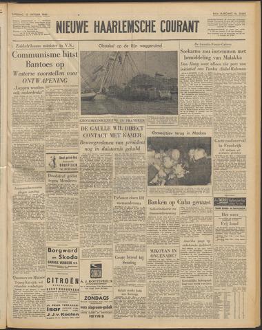 Nieuwe Haarlemsche Courant 1960-10-15
