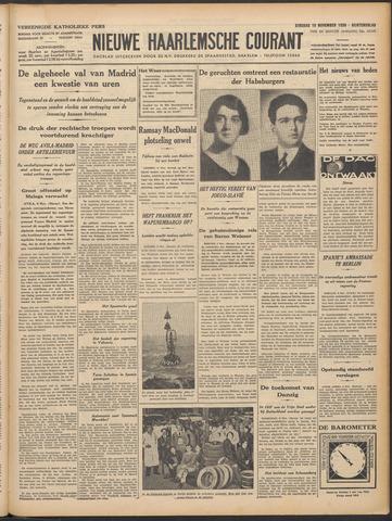 Nieuwe Haarlemsche Courant 1936-11-10