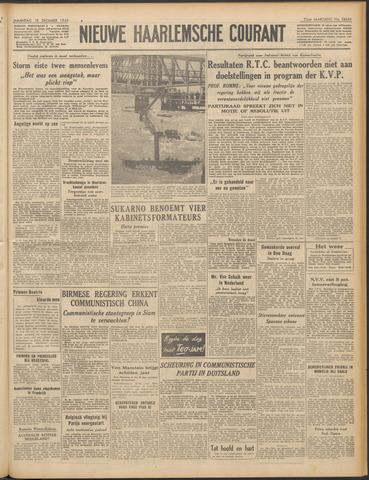 Nieuwe Haarlemsche Courant 1949-12-19