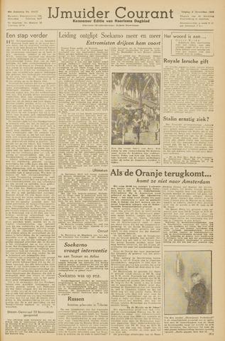 IJmuider Courant 1945-11-09