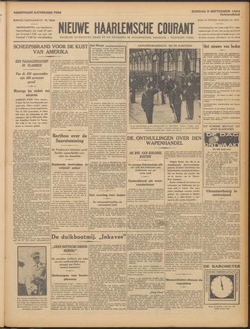 Nieuwe Haarlemsche Courant 1934-09-09