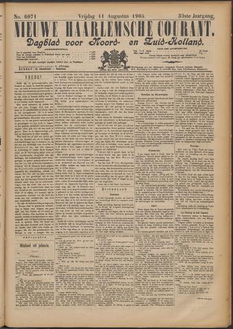 Nieuwe Haarlemsche Courant 1905-08-11