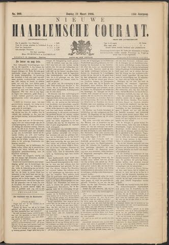 Nieuwe Haarlemsche Courant 1886-03-21