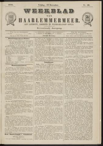 Weekblad van Haarlemmermeer 1876-12-15