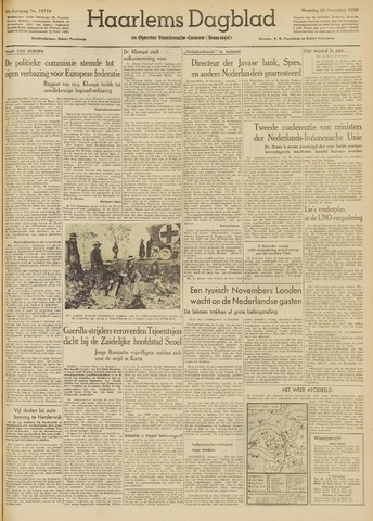 Haarlem's Dagblad 1950-11-20