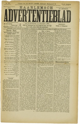 Haarlemsch Advertentieblad 1888-12-12