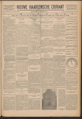 Nieuwe Haarlemsche Courant 1931-10-07