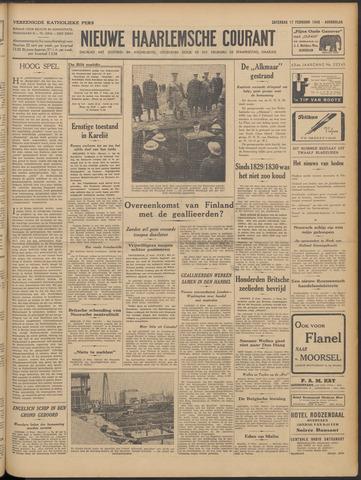 Nieuwe Haarlemsche Courant 1940-02-17