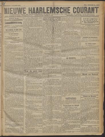 Nieuwe Haarlemsche Courant 1919-10-08