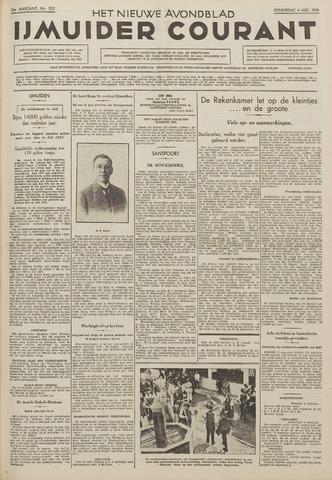 IJmuider Courant 1938-08-04