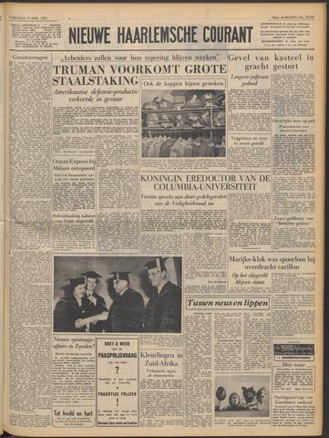 Nieuwe Haarlemsche Courant 1952-04-09