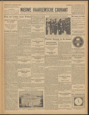 Nieuwe Haarlemsche Courant 1933-11-04