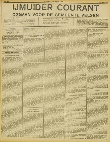 IJmuider Courant 1922-04-12