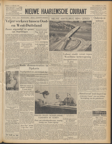 Nieuwe Haarlemsche Courant 1954-02-23
