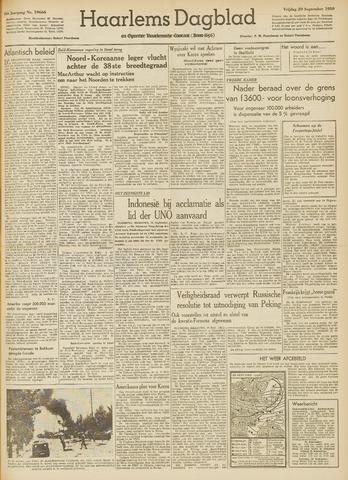 Haarlem's Dagblad 1950-09-29