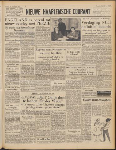 Nieuwe Haarlemsche Courant 1951-08-24