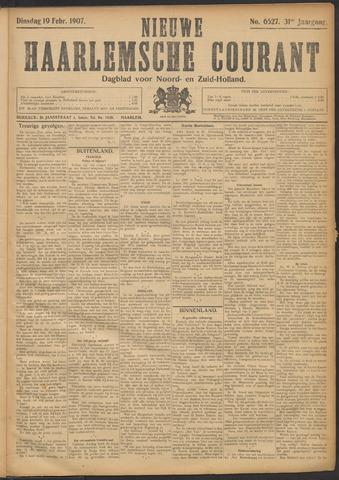 Nieuwe Haarlemsche Courant 1907-02-19