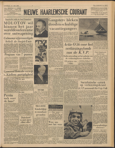 Nieuwe Haarlemsche Courant 1955-06-23