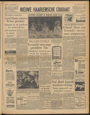 Nieuwe Haarlemsche Courant 1963-10-18