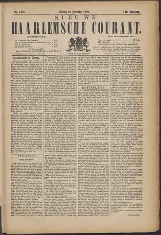 Nieuwe Haarlemsche Courant 1889-12-29