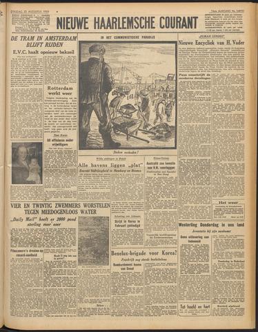 Nieuwe Haarlemsche Courant 1950-08-22