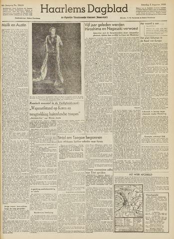 Haarlem's Dagblad 1950-08-05