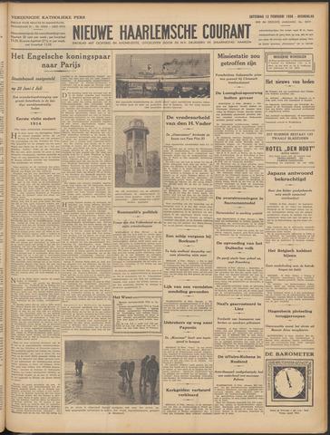 Nieuwe Haarlemsche Courant 1938-02-12