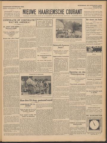 Nieuwe Haarlemsche Courant 1934-08-29