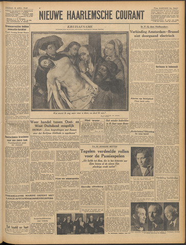 Nieuwe Haarlemsche Courant 1949-04-15