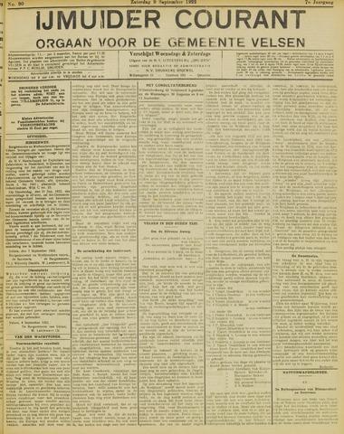 IJmuider Courant 1922-09-09