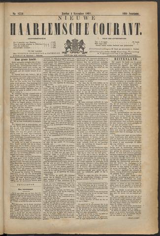 Nieuwe Haarlemsche Courant 1891-11-01