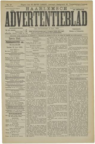 Haarlemsch Advertentieblad 1900-06-09