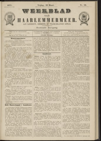 Weekblad van Haarlemmermeer 1875-03-19