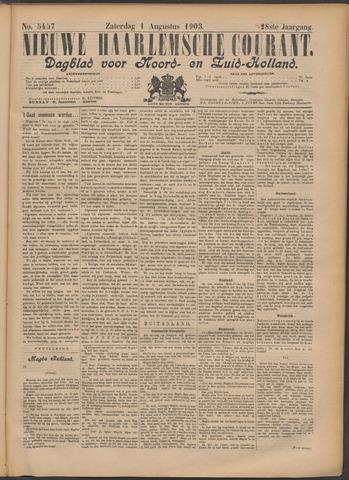 Nieuwe Haarlemsche Courant 1903-08-01