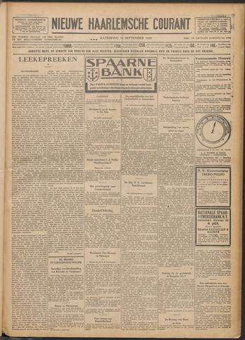 Nieuwe Haarlemsche Courant 1929-09-14