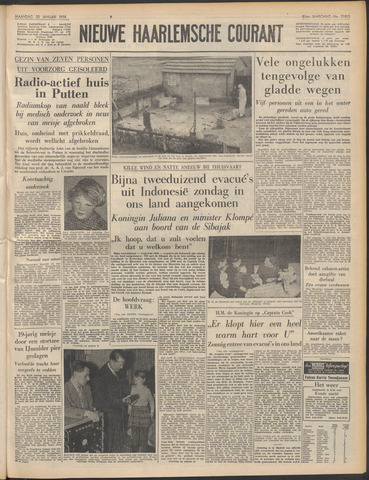 Nieuwe Haarlemsche Courant 1958-01-20