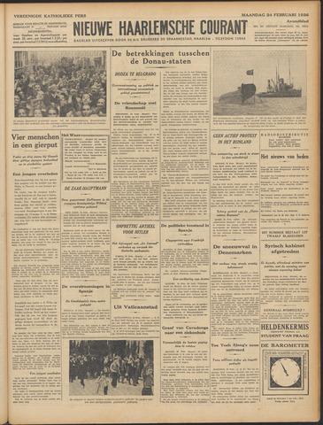 Nieuwe Haarlemsche Courant 1936-02-24