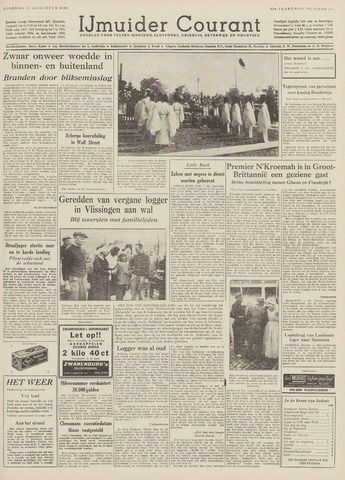 IJmuider Courant 1959-08-11