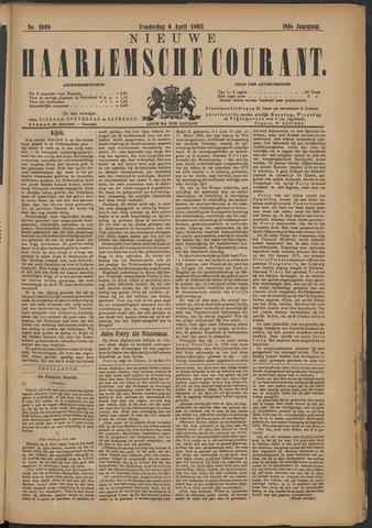 Nieuwe Haarlemsche Courant 1893-04-06