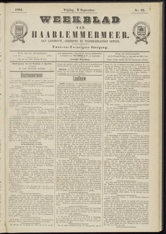 Weekblad van Haarlemmermeer 1881-09-02