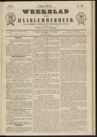 Weekblad van Haarlemmermeer 1874-05-29