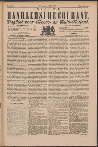 Nieuwe Haarlemsche Courant 1898-05-18