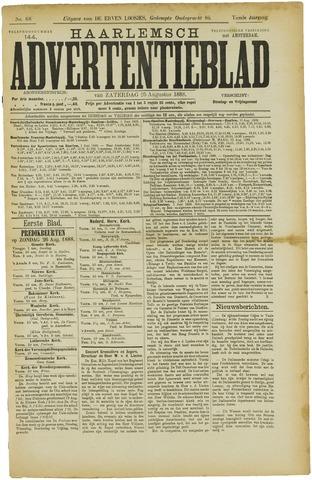 Haarlemsch Advertentieblad 1888-08-25